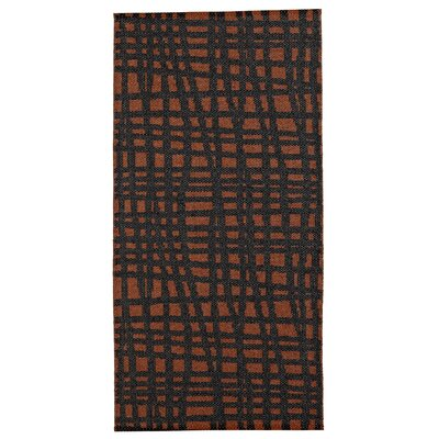 Floow Penn Lava Black / Orange Area Rug