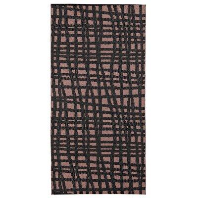Floow Penn Heather Black / Pink Area Rug