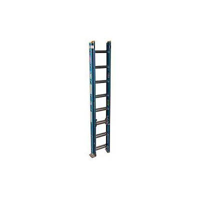 Werner 16 ft Fiberglass Extension Ladder with 250 lb. Load Capacity