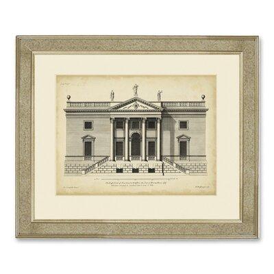 Brookpace Fine Art Archive 'Vintage Façade V' Framed Graphic Art