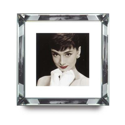 Brookpace Fine Art Manhattan 'Audrey Hepburn Red Lips' Framed Photographic Print