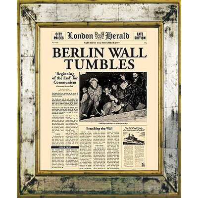 Brookpace Fine Art Versailles 'Berlin' Framed Graphic Art