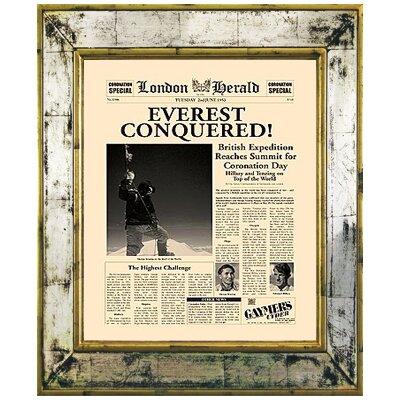 Brookpace Fine Art Versailles 'Everest Conquered' Framed Graphic Art