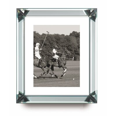 Brookpace Fine Art Manhattan 'Polo Match in the Park 1' Framed Photographic Print