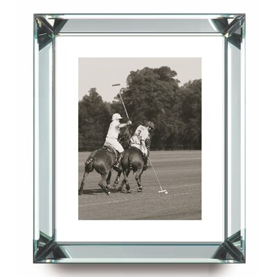 Brookpace Fine Art Manhattan 'Polo Match in the Park 3' Framed Photographic Print