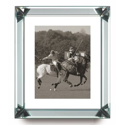 Brookpace Fine Art Manhattan 'Polo Match in the Park 4' Framed Photographic Print