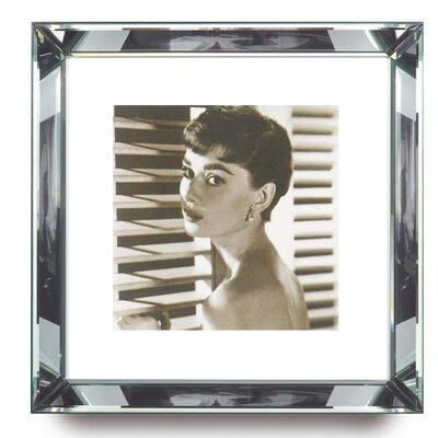 Brookpace Fine Art Manhattan 'Audrey Hepburn' Framed Photographic Print