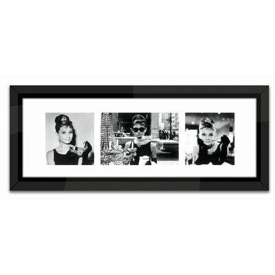 Brookpace Fine Art Breakfast at Tiffany's Triptych Framed Photographic Print