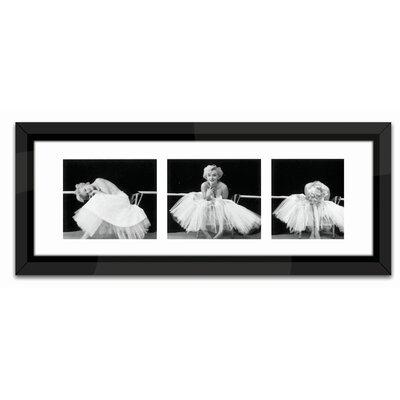 Brookpace Fine Art Ballerina Triptych Framed Photographic Print