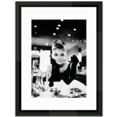 Brookpace Fine Art Audrey Hepburn Framed Photographic Print