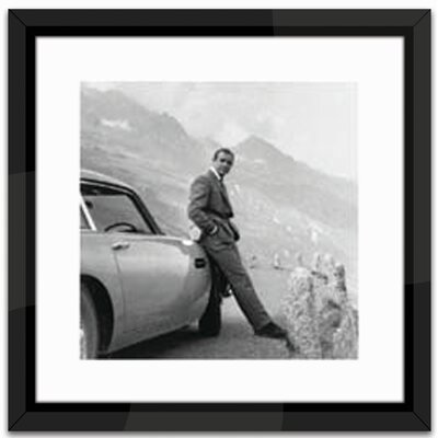 Brookpace Fine Art Studio James Bond, Aston Martin Framed Photographic Print