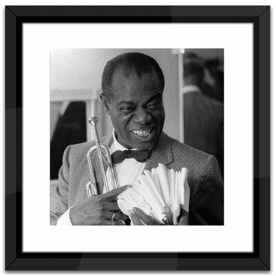 Brookpace Fine Art Louis Armstrong Framed Photographic Print