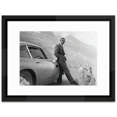 Brookpace Fine Art James Bond, Aston Martin Framed Photographic Print