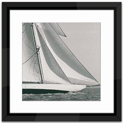 Brookpace Fine Art Classic Yatch 1 Framed Photographic Print