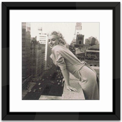 Brookpace Fine Art Marilyn Monroe in Manhattan Framed Photographic Print