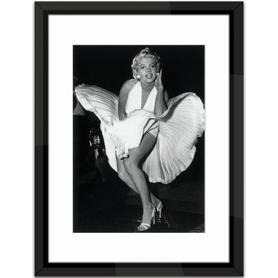 Brookpace Fine Art Marilyn Monroe, Seven Year Itch Framed Photographic Print