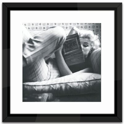 Brookpace Fine Art Marilyn Monroe Relaxing Framed Photographic Print