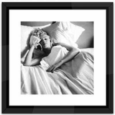 Brookpace Fine Art Marilyn Monroe, Bed Framed Photographic Print