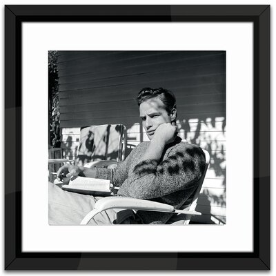 Brookpace Fine Art Studio Marlon Brando Framed Photographic Print