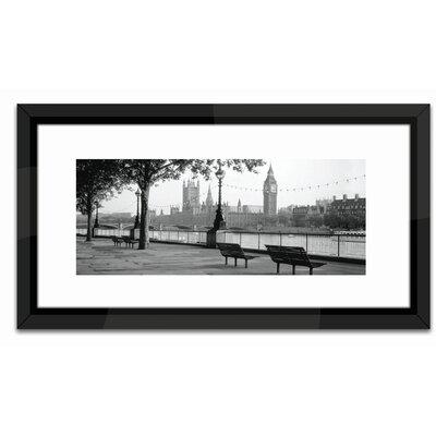 Brookpace Fine Art Studio Thames, Big Ben, London Framed Photographic Print