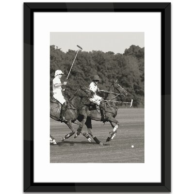 Brookpace Fine Art Polo Match in the Park 1 Framed Photographic Print