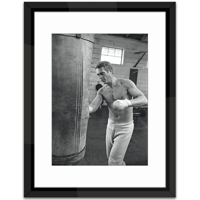 Brookpace Fine Art Steve Macaque Boxing Framed Photographic Print