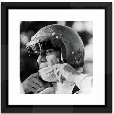 Brookpace Fine Art Studio Steve McQueen Racing Framed Photographic Print