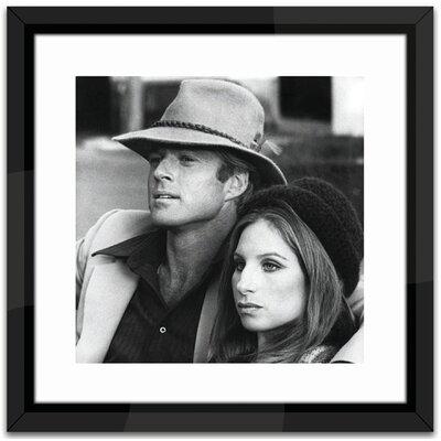 Brookpace Fine Art Robert Redford and Barbra Streisand Framed Photographic Print