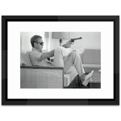 Brookpace Fine Art Studio Steve McQueen Take Aim Framed Photographic Print