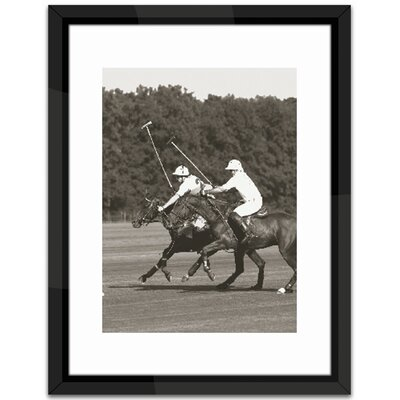 Brookpace Fine Art Polo Match in the Park 2 Framed Photographic Print