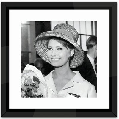 Brookpace Fine Art Sophia Loren Framed Photographic Print