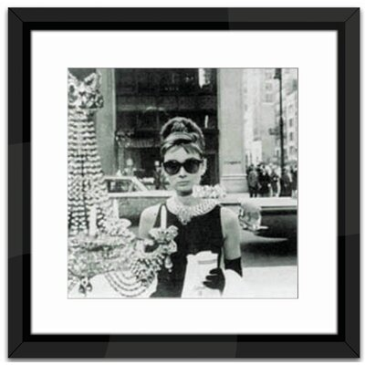 Brookpace Fine Art Shopping at Tiffany's Framed Photographic Print