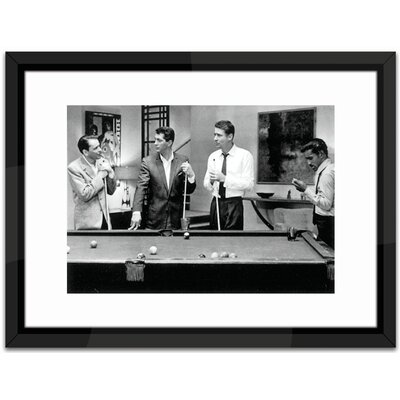Brookpace Fine Art The Rat Pack Play Pool Framed Photographic Print
