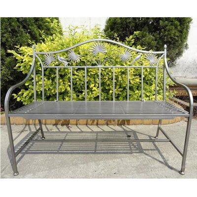 Harms Import Garden 2 Seater Iron Bench