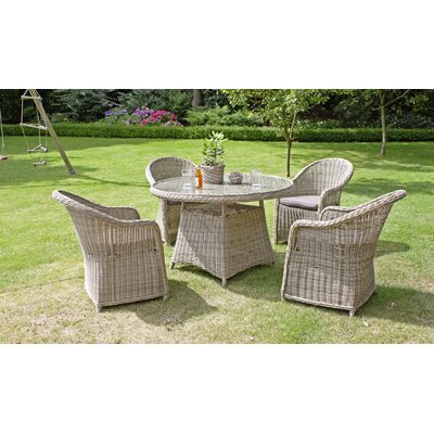 Harms Import Dining Table and 4 Chairs