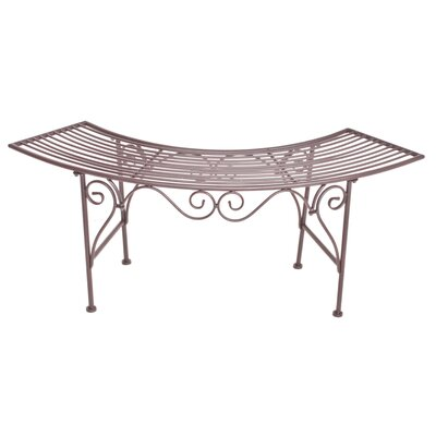 Harms Import Majestic Curved 2 Seater Iron Bench