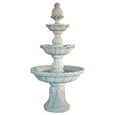 Harms Import Polyresin 3 Tier Fountain