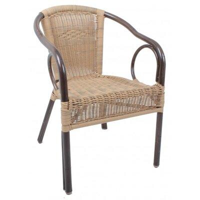 Harms Import Tatra Aluminium Stacking Chair