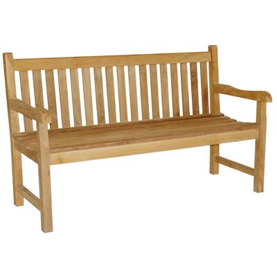 Harms Import Solo 3 Seater Teak Bench