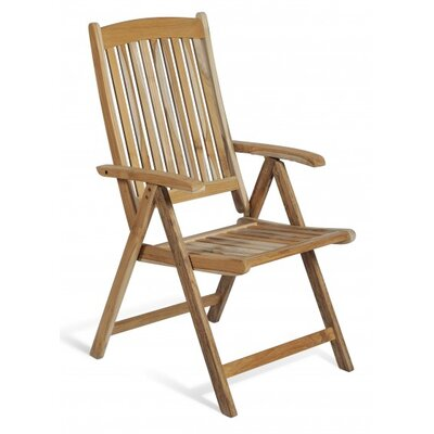 Harms Import Java Teak High-Back Arm Chair