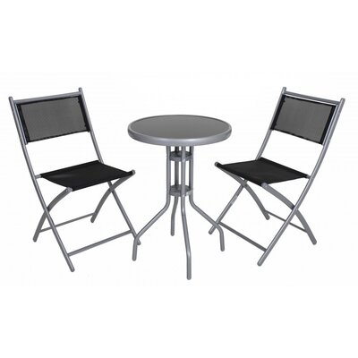 Harms Import Dining Table and 2 Chairs
