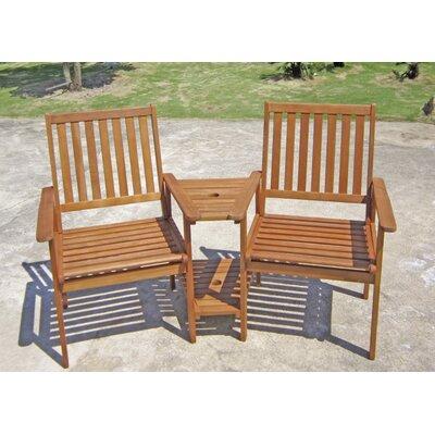 Harms Import Edison Double Arm Chair