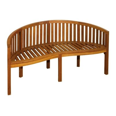 Harms Import Salinas Curved Bench