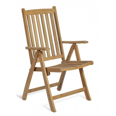 Harms Import Solo Teak High-Back Arm Chair