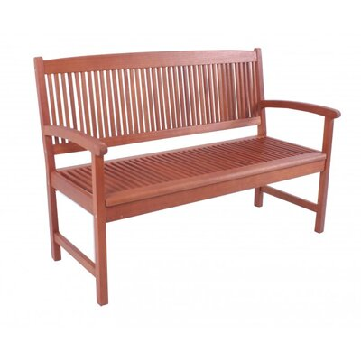 Harms Import Stockholm 3 Seater Wooden Bench