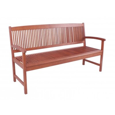 Harms Import Stockholm 3 Seater Eucalyptus Bench