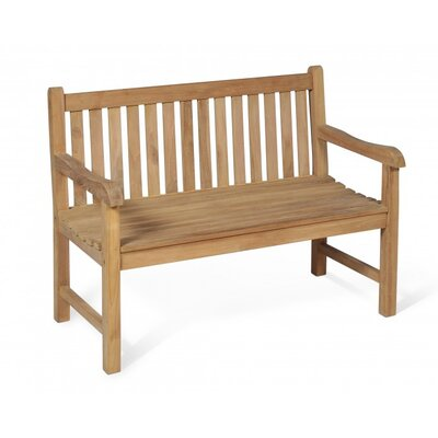 Harms Import Solo 2 Seater Teak Bench