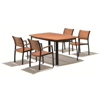 Harms Import Dining Table and 4 Chair