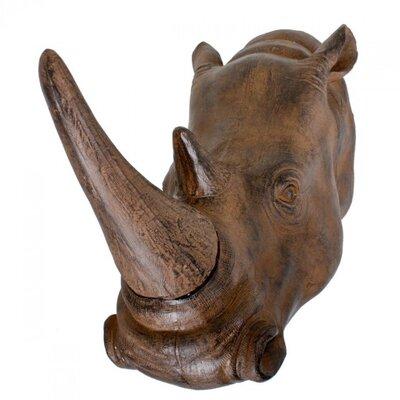 Harms Import Rhinoceros Wall Decor