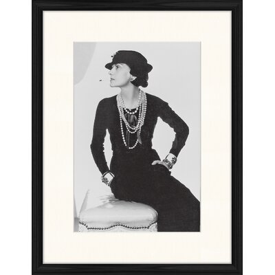 LivCorday Chanel Icon 2 Framed Photographic Print